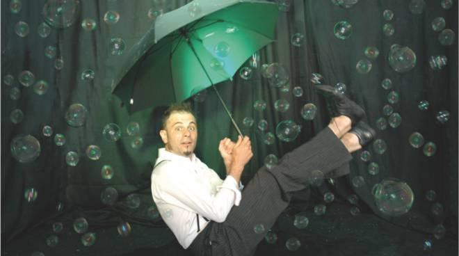 Omino della pioggia