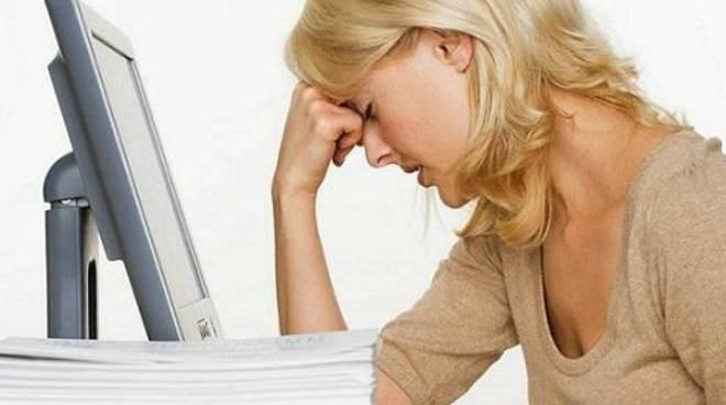 donne stress lavoro