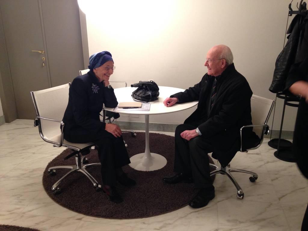 Emma Bonino e Pandolfi
