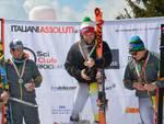 Italiani di sci al monte pora