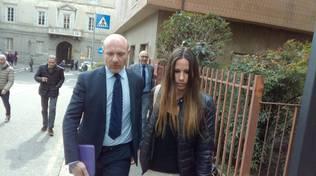 La moglie di Bossetti in tribunale