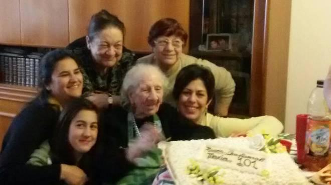 nonnina 101 anni
