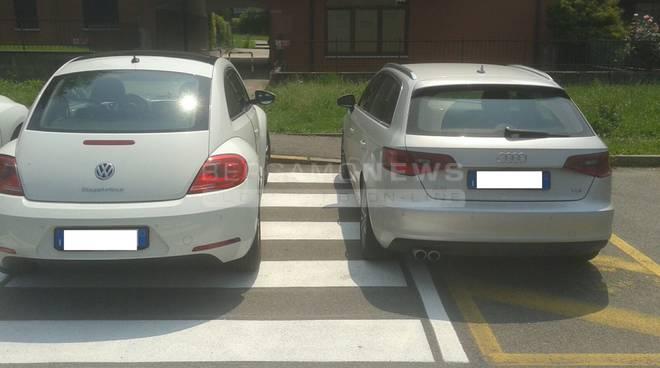 Parcheggio villa d'almè