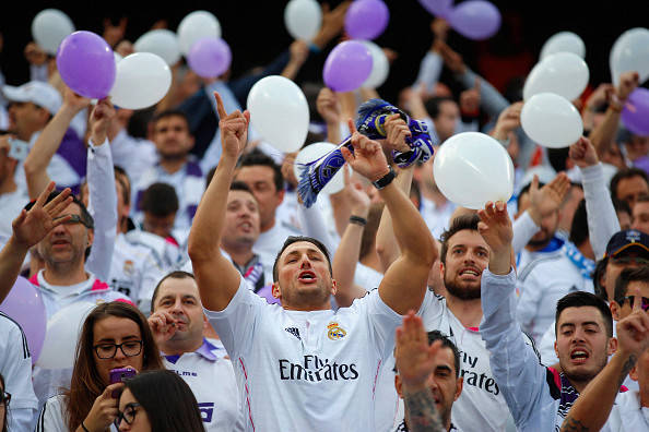 Real Madrid tifosi
