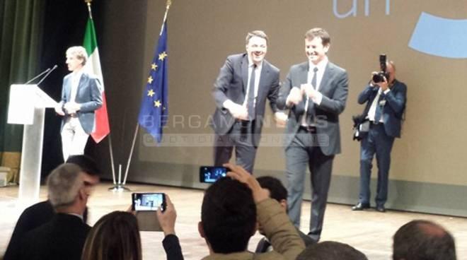 Teatro Sociale, Renzi