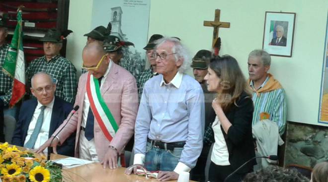 Christo, cittadinanza onorario