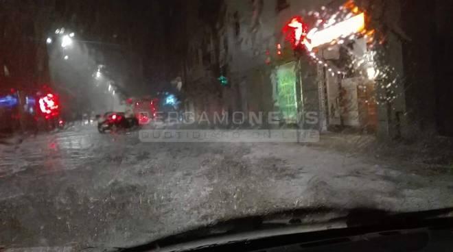 Grandine Bergamo via San Bernardino 2016
