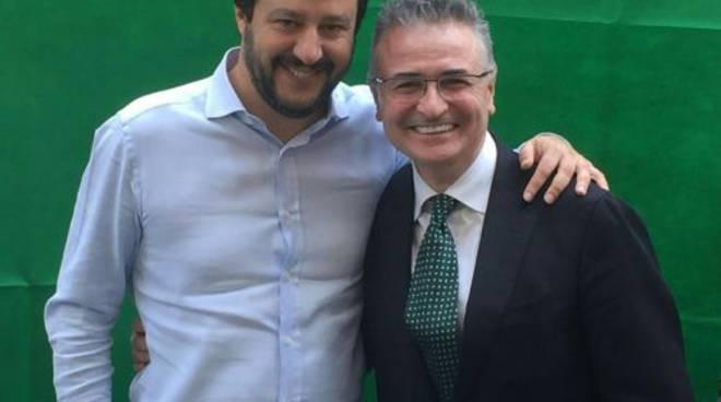 Palazzago - Michele Jacobelli (a destra)