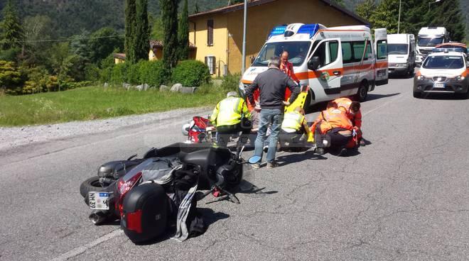Incidente a Cerete, ferito 57enne