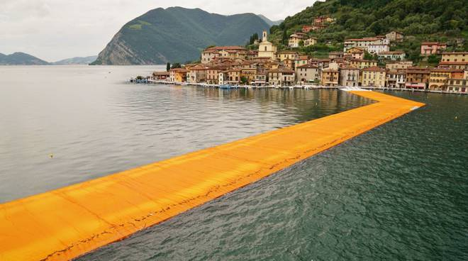 Addio Floating Piers, opera da 1 mln 200 mila visitatori
