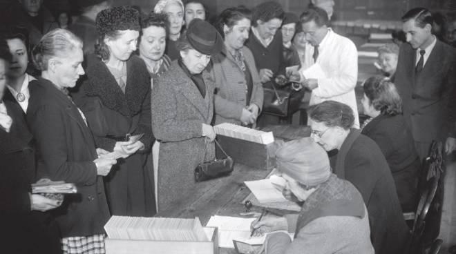 primo voto delle donne