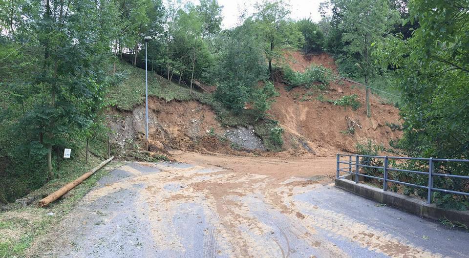 Smottamenti in Val Cavallina