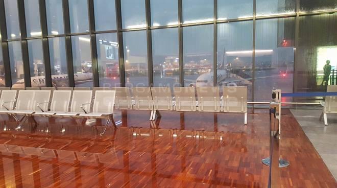 Aeroporto allagato