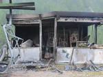 Incendio agli impianti di sci di Foppolo