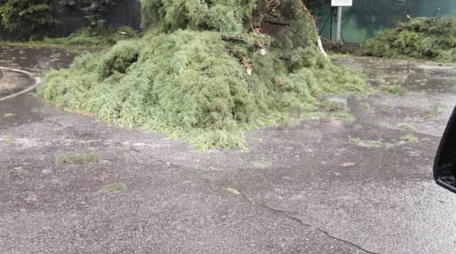 Nubifragio di fine luglio sulla Bergamasca