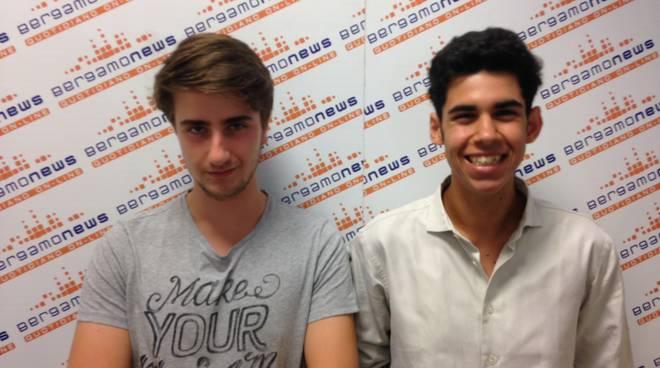 Omar Oueslati e Riccardo