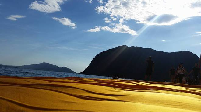 The Floating Piers, le vostre foto simbolo