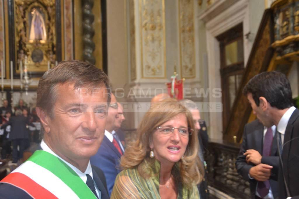 Bergamo, festa di Sant'Alessandro in Duomo, chi c'era – I
