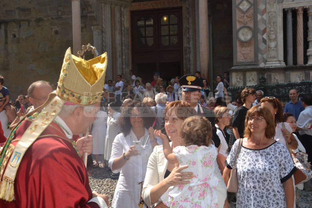 Bergamo, festa di Sant'Alessandro in Duomo, chi c'era – II