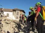 Il Soccorso Alpino in azione ad Amatrice