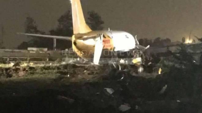 Incidente aereo a Orio al Serio