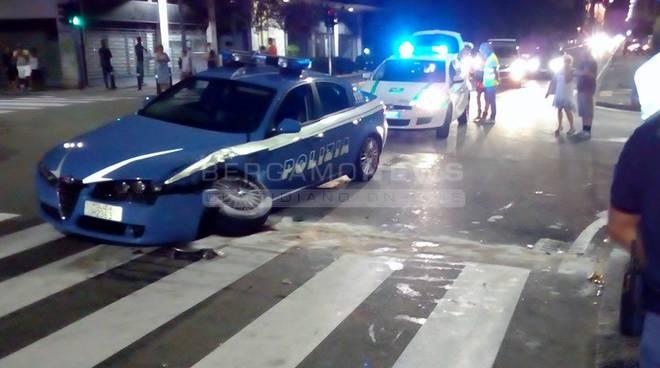 Incidente con la Polizia: 4 feriti