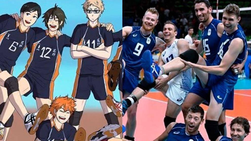 manga volley