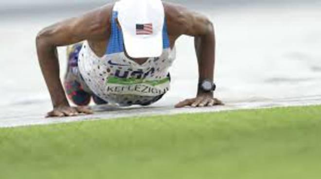 maratoneta flessioni