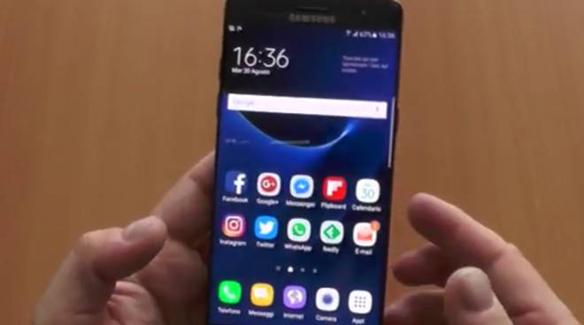 Samsung Galaxy Note 7, hands on: le prime impressioni