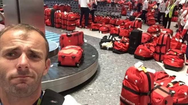 valigia rossa