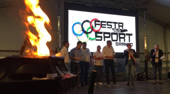 Sarnico, inaugurata la festa dello sport: riconoscimento alla carriera per Bellini fotogallery