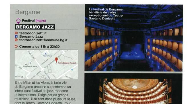 """""""Jazz Magazine"""" segnala il Bergamo Jazz tra i più importanti festival europei"""