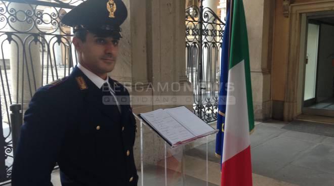 """Bergamo ricorda Ciampi: """"Grazie per averci restituito l'orgoglio di essere italiani"""" fotogallery"""