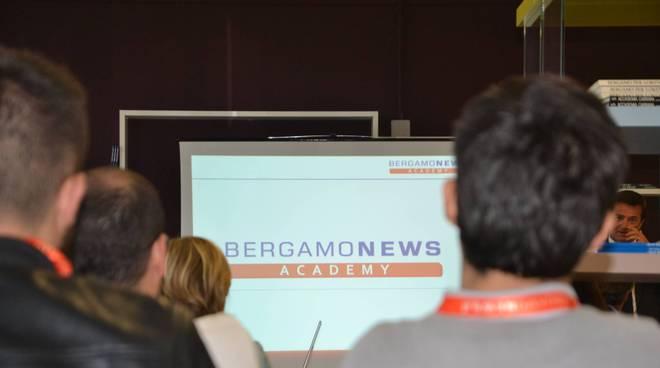 Entusiasmo e voglia di imparare: Bergamonews Academy ha aperto i battenti