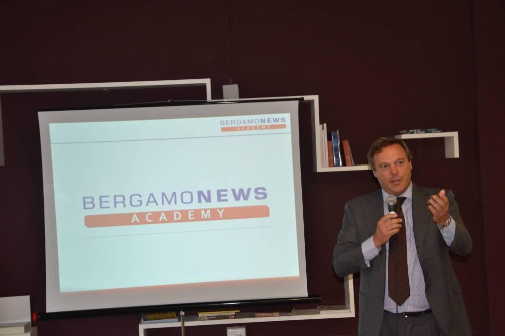 Bergamonews Academy: l'inaugurazione