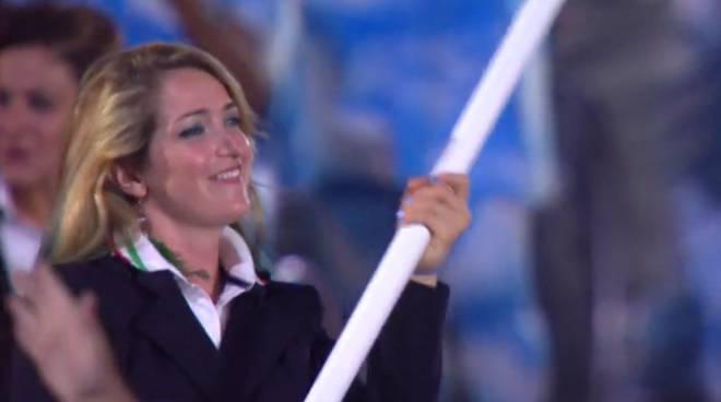 Al via le Paralimpiadi di Rio: il sorriso della nostra portabandiera Martina Caironi foto