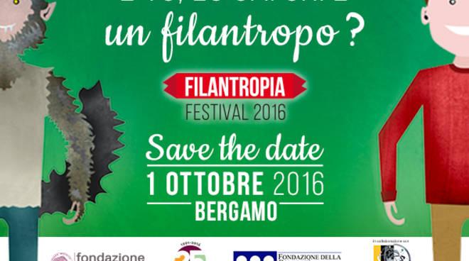 Il Festival della Filantropia 2016 prende il via da Bergamo