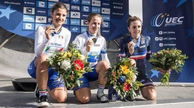Lisa Morzenti orgoglio di Bergamo: è medaglia d'oro agli Europei francesi