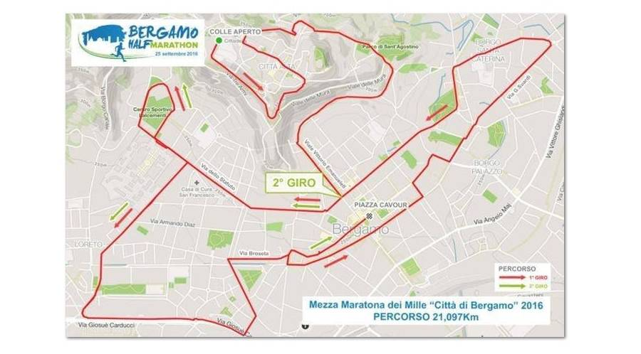 Domenica torna la Mezza Maratona di Bergamo, ecco tutte le ...