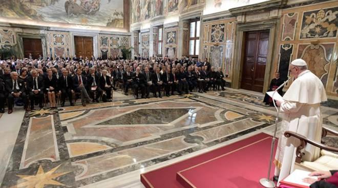 papa francesco giornalisti