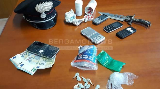 arresti droga villa d'almè
