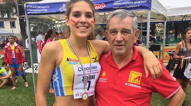 Campionati nazionali, l'Atletica Bergamo si piazza al terzo posto