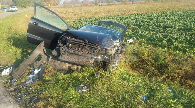 Incidente stradale a Pognano