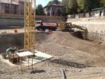 Lavori in Piazza Setti a Treviglio