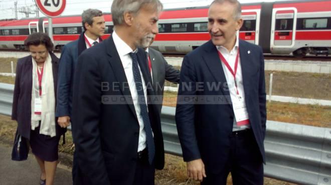 Nuovo treno veloce Treviglio-Brescia