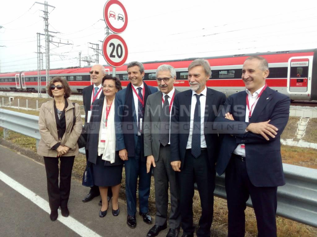 Nuovo treno alta velocit milano brescia in mezzora for Scuola di moda brescia