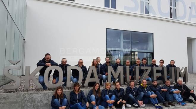 Dipendenti del Gruppo Bonaldi a scoprire la fabbrica della Skoda e ...