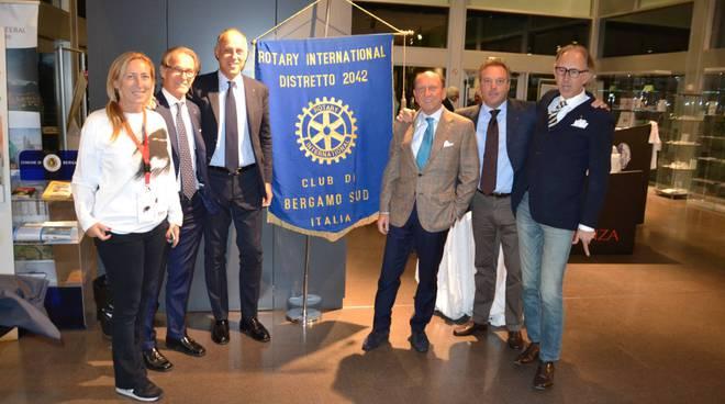 Rotary Sud, un volo nel futuro con BergamoScienza