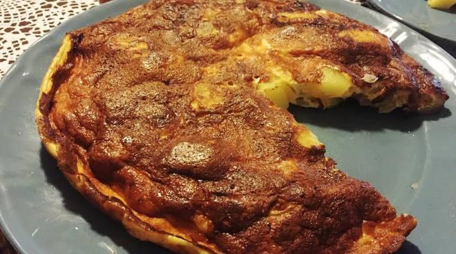 Tortilla cipolle patate