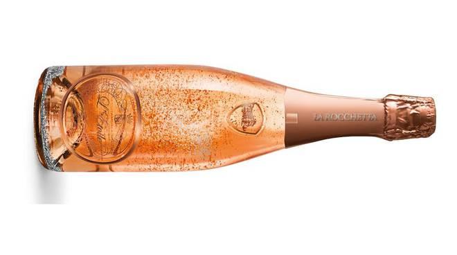 Dopo lo spumante con la polvere d'oro è bergamasco anche il rosè con frammenti d'argento